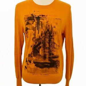 Sisley London Bridge Graphic Sweater (RARE)